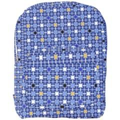 Persian Block Sky Full Print Backpack by jumpercat