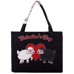 Valentines Day   Sheep  Mini Tote Bag by Valentinaart