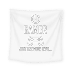 Gamer Square Tapestry (small) by Valentinaart