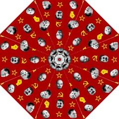 Communist Leaders Straight Umbrellas by Valentinaart