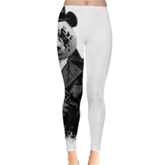 Rorschach Panda Leggings  by jumpercat