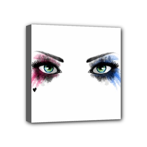 Look Of Madness Mini Canvas 4  X 4  by jumpercat