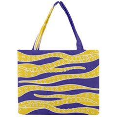 Yellow Tentacles Mini Tote Bag by jumpercat