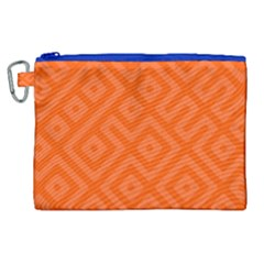 Seamless Pattern Design Tiling Canvas Cosmetic Bag (xl) by Nexatart