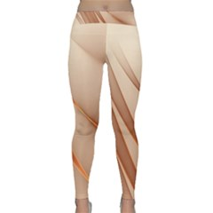 Background Light Glow Abstract Art Classic Yoga Leggings