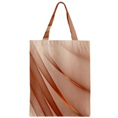 Background Light Glow Abstract Art Zipper Classic Tote Bag