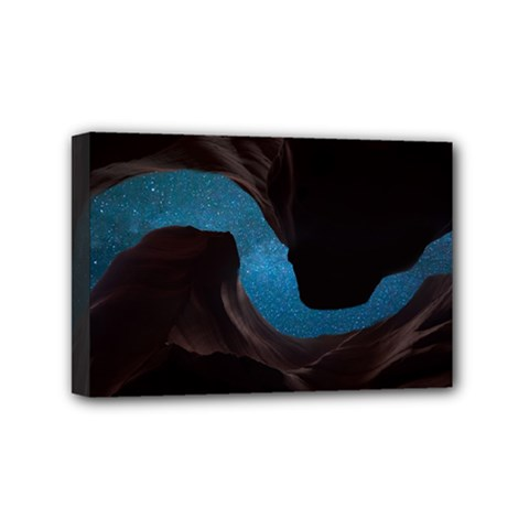 Abstract Adult Art Blur Color Mini Canvas 6  X 4  by Nexatart