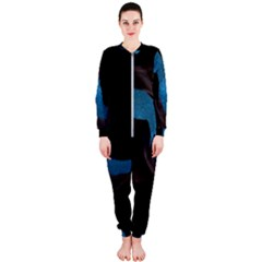 Abstract Adult Art Blur Color Onepiece Jumpsuit (ladies)