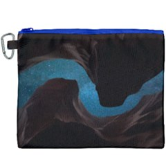 Abstract Adult Art Blur Color Canvas Cosmetic Bag (xxxl) by Nexatart
