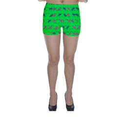 Fish Aquarium Underwater World Skinny Shorts