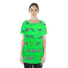 Fish Aquarium Underwater World Skirt Hem Sports Top