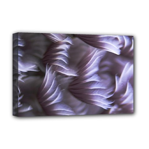 Sea Worm Under Water Abstract Deluxe Canvas 18  X 12