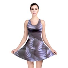 Sea Worm Under Water Abstract Reversible Skater Dress