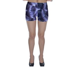 Sea Worm Under Water Abstract Skinny Shorts
