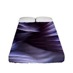 Sea Worm Under Water Abstract Fitted Sheet (full/ Double Size)