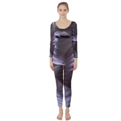 Sea Worm Under Water Abstract Long Sleeve Catsuit