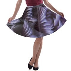 Sea Worm Under Water Abstract A Line Skater Skirt