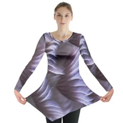 Sea Worm Under Water Abstract Long Sleeve Tunic