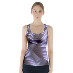 Sea Worm Under Water Abstract Racer Back Sports Top