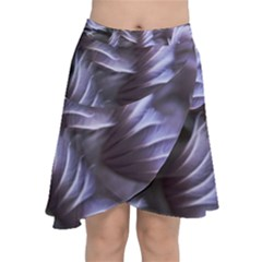 Sea Worm Under Water Abstract Chiffon Wrap