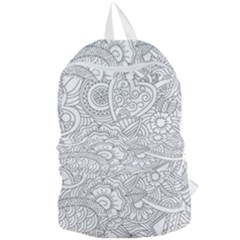 Ornament Vector Retro Foldable Lightweight Backpack