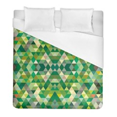 Forest Abstract Geometry Background Duvet Cover (full/ Double Size)