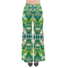 Forest Abstract Geometry Background Pants