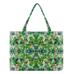 Forest Abstract Geometry Background Medium Tote Bag