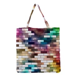 Background Wall Art Abstract Grocery Tote Bag