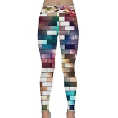 Background Wall Art Abstract Classic Yoga Leggings