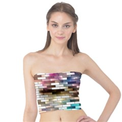 Background Wall Art Abstract Tube Top