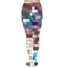 Background Wall Art Abstract Women s Tights