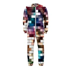 Background Wall Art Abstract Onepiece Jumpsuit (kids) by Nexatart