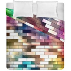 Background Wall Art Abstract Duvet Cover Double Side (california King Size)