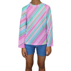 Background Texture Pattern Kids  Long Sleeve Swimwear by Nexatart
