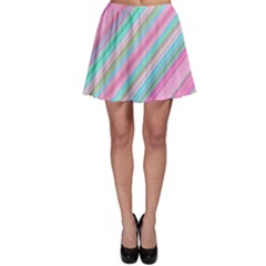Background Texture Pattern Skater Skirt