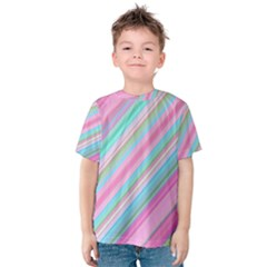 Background Texture Pattern Kids  Cotton Tee