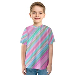 Background Texture Pattern Kids  Sport Mesh Tee