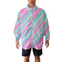 Background Texture Pattern Wind Breaker (kids)