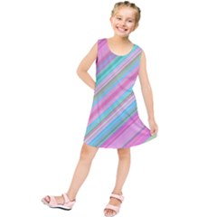 Background Texture Pattern Kids  Tunic Dress