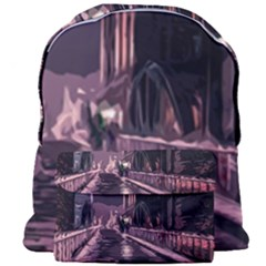 Texture Abstract Background City Giant Full Print Backpack