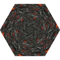 Rock Volcanic Hot Lava Burn Boil Mini Folding Umbrellas