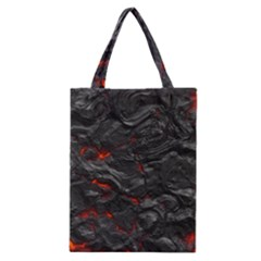 Rock Volcanic Hot Lava Burn Boil Classic Tote Bag