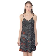 Rock Volcanic Hot Lava Burn Boil Camis Nightgown