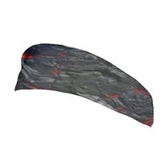 Rock Volcanic Hot Lava Burn Boil Stretchable Headband