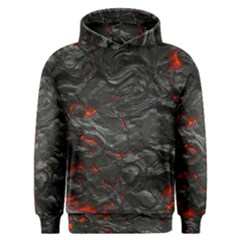 Rock Volcanic Hot Lava Burn Boil Men s Overhead Hoodie
