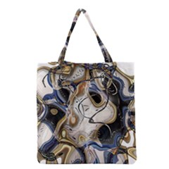 Time Abstract Dali Symbol Warp Grocery Tote Bag