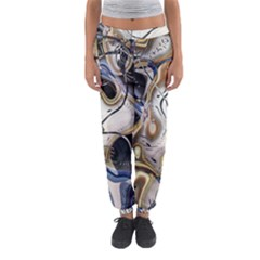 Time Abstract Dali Symbol Warp Women s Jogger Sweatpants by Nexatart