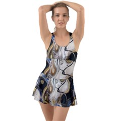 Time Abstract Dali Symbol Warp Swimsuit