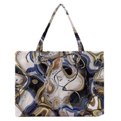 Time Abstract Dali Symbol Warp Zipper Medium Tote Bag